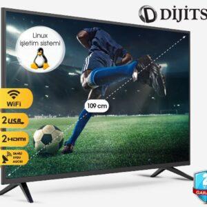 Dijitsu 43″ Full HD Smart Linux Televizyon Özellikleri, Fiyatı ve Kullanıcı Yorumları